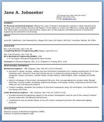 Mechanical Engineering Resume Template Unique Download Free Mechanical Engineer Resume Samples And Writing Guide