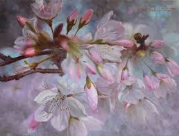 cherry blossoms cherry blossoms oil on canvas
