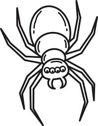 Small Picture FREE Printable Halloween Spider Coloring Page for Kids 3