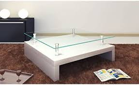 Whether you're looking to buy coffee tables online or get inspiration for your home, you'll find just what you're looking for on houzz. Amazon Com Festnight 2 Tier High Gloss Coffee Table With Tempered Glass Top And Shelves Square Sofa And Couch End Side Table Living Room Home Furniture 30 3 X 30 3 X 12 6 White Sports