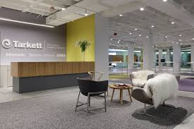 Q: This past June, Tarkett's showroom at the Merchandise Mart successfully  debuted at NeoCon and was the firm's first completed project in Chicago.