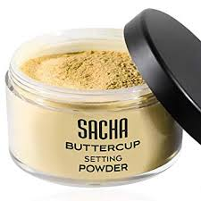 powder by sacha cosmetics best translucent loose face finishing powder for setting makeup foundation for a flawless finish um to dark skin tones