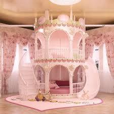 Schlafzimmer Prinzessin Mädchen Rutsche Kinder Bett, Schönes Einzel Rosa  Schloss Bett Mädchen Möbel