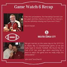 Game Watch 6 Recap!   OU Alumni Association