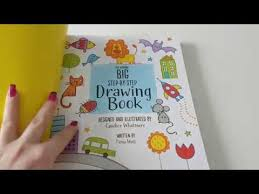 big step by step drawing book from usborne