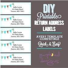 Banner Label Template Ring Binder Printing Staple Free