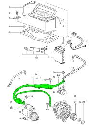 porsche 997 wiring harness for starter motor and alternator zoom in 2
