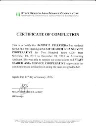 Template Certificate Of Employment Virtren Com