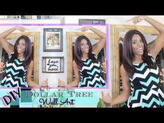 tree wall decor art youtube: glam home a diy room decor a mirror wall art a dollar tree spring decor