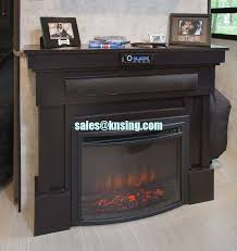 23 insert electric fireplace heater curved front log led flame effect ef 30a remote control built in electric stove