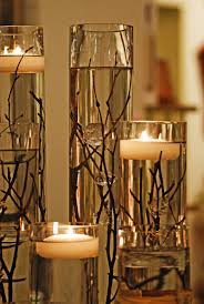 Simple Candle Decoration Branching Out Into Thanksgiving Centerpieces Gardens Beautiful