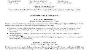 Example Of Bartender Resume List Waitress Duties Resume Waiter Interesting Bartending Resume Skills