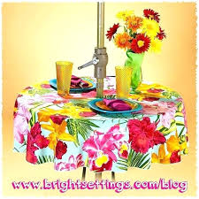 round outdoor tablecloth good round patio tablecloth with umbrella hole or tablecloth with an umbrella hole round outdoor tablecloth