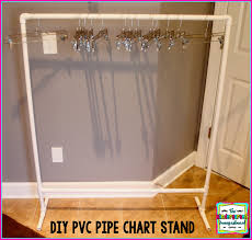 How To Make A Pvc Pocket Chart Stand Anchor Chart Storage The Kindergarten Smorgasboard