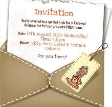 Farewell Dinner Invitation Customize 4 Farewell Party Invitation