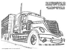 Small Picture Download Coloring Pages Semi Truck Coloring Pages Semi Truck