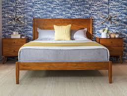 Bedroom medium distressed white bedroom furniture vinyl Soflex Aubriella Mid Century Bedroom With Alton Cherry Queen Platform Bed Toyoursuccessme Bedroom Ideas To Fit Your Home Decor Living Spaces