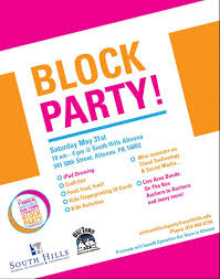 Block Party Flyer Community Block Party May 31 Operation Our Town