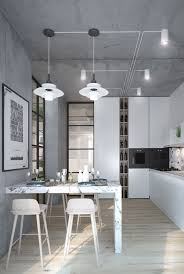 Concrete Floors In Kitchen 3 Inspiring Homes With Concrete Ceilings And Wood Floors