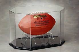 Football Stands Display Football Cases Jersey and Football Helmet Display 99