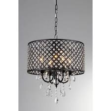 medium size of monet in black indoor drumade crystal chandelier with excellent silver mist hanging diy