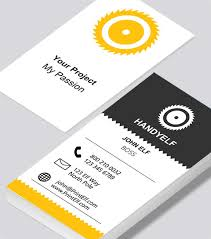 Buisness Card Online Handyman Business Card Modern Design