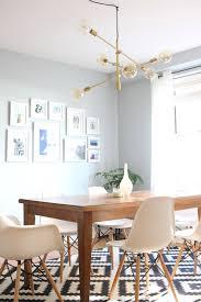 mid century modern dining room my new light fixture