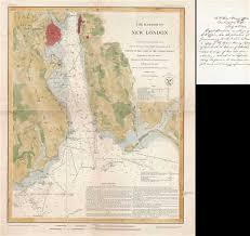 Thames River Ct Depth Chart The Harbor Of New London Geographicus Rare Antique Maps