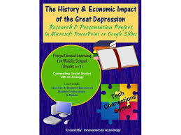 history economic impact of the great depression research history economic impact of the great depression research presentation project by innovationsintechnology teaching resources tes
