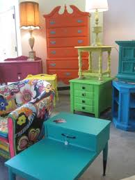 painted vintage furnitureFun Finds at the Elle  Bae PopUp Shop  Tamara Heather Interior