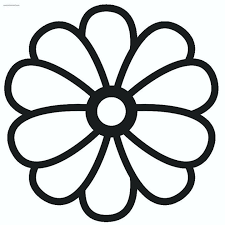 Free Large Print Coloring Pages Large Print Coloring Pages Flower To
