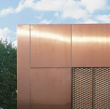 metal decorative panel copper
