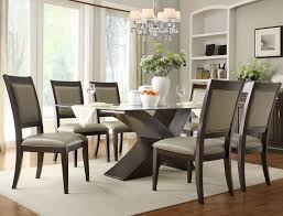 incredible design for dining tables sets ideas room top regarding glass top dining room tables modern