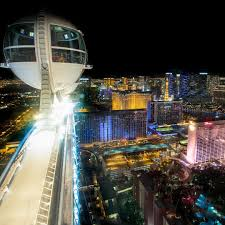 the high roller has the best view of the las vegas top photo spot in