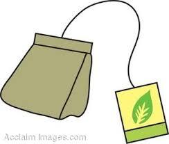 tea bag clipart. Simple Bag On Tea Bag Clipart A