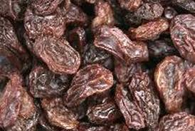 a serving of raisins is equal to a 1 4 cup