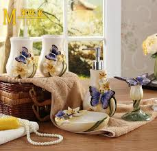 Butterfly Home Decor Accessories Buy butterfly bathroom sets and get free shipping on AliExpress 78