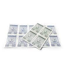 อากร แสตมป์ สำหรับติดเอกสาร มูลค่า 10 บาท ราคา 5 บาท