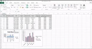 How To Insert A Chart In Excel 2013 Create Charts And Objects In Excel 2013 Tutorial Simplilearn