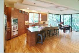 Large Kitchen Wonderful Large Kitchen Ideas With High Chairs And Wooden Cabinet