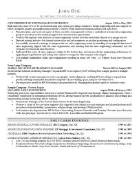 Technical Sales Resume Examples Technology Sales Resume Example Vp Of Sales Sales Management