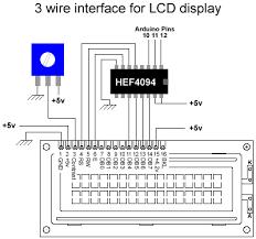 arduino playground lcd3wires figure 1 schematic by philip warner