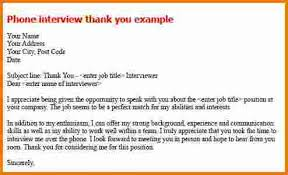 5 Thank You Email After Phone Interview Best Solutions Of Write A