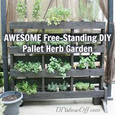 diy pallet herb feat most of the vertical pallet gardens