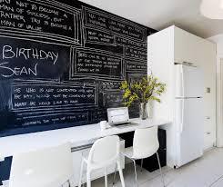 Modern Memo Board Kitchen Makeovers Stylish Chalkboards Modern Memo Board Kitchen 50