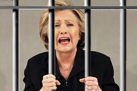 Image result for Hillary clinton jail
