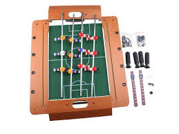Miniature Wooden Foosball Table Game AGPtek 10001000100cm 100 Miniature Wooden Mini Wood Table Foosball 14