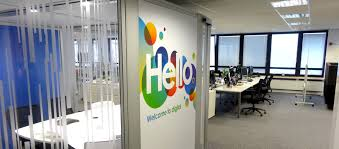 creative office walls. brilliant walls creative office branding using wall graphics from vinyl impression wall  stickers give a professional look intended walls