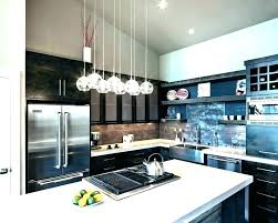 average height of pendant lights over island above for kitchen single light singl