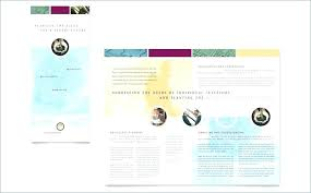 How To Make A Trifold Brochure In Word 2007 Brochure Template Word 2007 Free Templates For Pamphlet